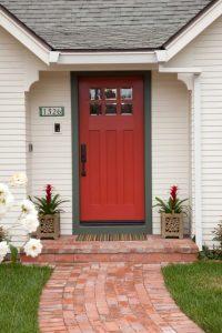 درب ورودی خانه