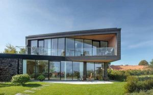 طراحی ساختمان ویلایی