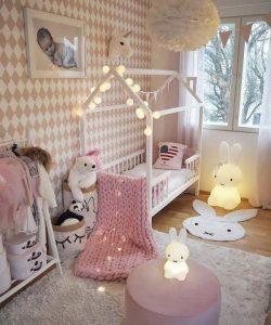 نور پردازی اتاق نوزاد