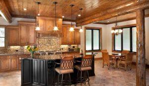 آشپز خانه چوبی