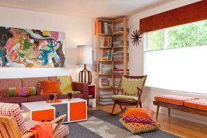ترکیب رنگ ها در اتاق