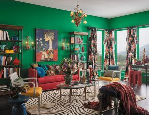ترکیب رنگی خانه