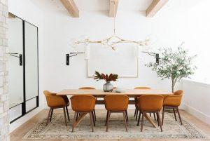 فرش اتاق ناهار خوری