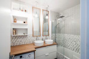 آینه حمام عمودی