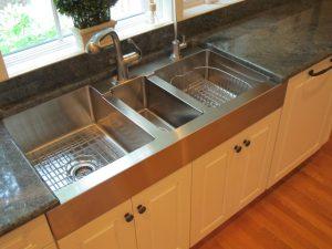 سینک ظرفشویی سه تایی