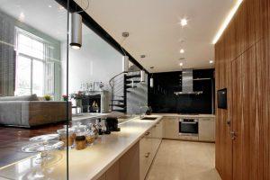 آشپزخانه غرق شده