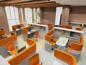 طراحی دکوراسیون دفترکار